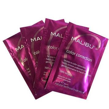 Malibu C Color Correction - 1st Step to Success, 4 Packets by Malibu Wellness