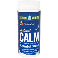 Natural Calm Calmful Sleep - Wildberry, Nutrient Drink Mix, 4 oz, Natural Vitality
