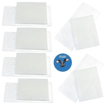 HQRP Filter Kit for Miele S2 series S227, S227i, S230, S231, S232, S234, S236i, S240i, S247i, S262i, S269i, S270i, S278, S280i, S282i Canister Vacuum Cleaners + HQRP Coaster (Pack of 6)