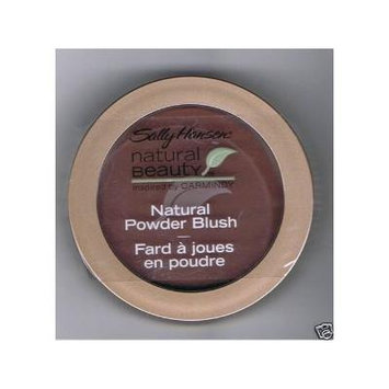 Sally Hansen Natural Beauty Powder Blush, Plumberry, Inspired By Carmindy.
