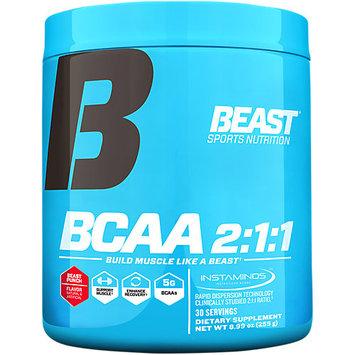 Beast Sports Nutrition BCAA 2:1:1 Powder - 30 Servings Beast Punch