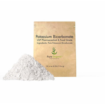 Potassium Bicarbonate, (4 oz) Natural, Highest Purity, Food Grade, (Eco-Friendly Packaging) (Available in 4 oz, 1 lb & 2 lb)