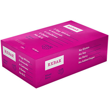 RXBAR 12g Protein Bar Mixed Berry 12ct Gluten-Free Snack Meal