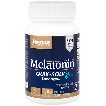 Melatonin QUIK-SOLV Lozenges Jarrow Formulas 100 Lozenge