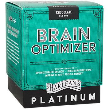 Barleans Brain Optimizer Chocolate Barlean's 6.35 oz Powder