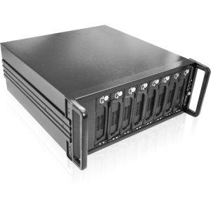 Istarusa RAIDage DAGE408U20T7-ES DAS Array - 8 x HDD Supported - 8 x Total Bays - eSATA - 0, 1, 5, JBOD RAID Levels - 4U Rack-mountable
