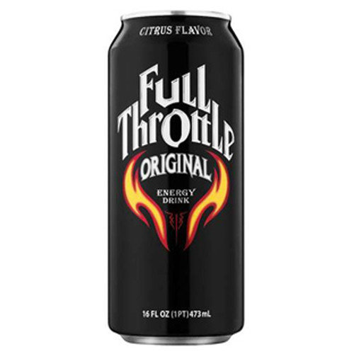 Full Throttle Original Energy Drink 16 oz Cans - Pack of 24