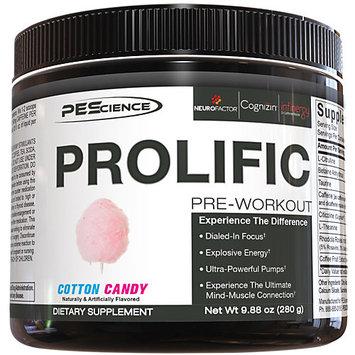 PES Prolific - 20 Servings Cotton Candy