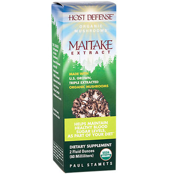 Fungi Perfecti / Host Defense Maitake Extract Fungi Perfecti/Host Defense 2 fl oz Liquid