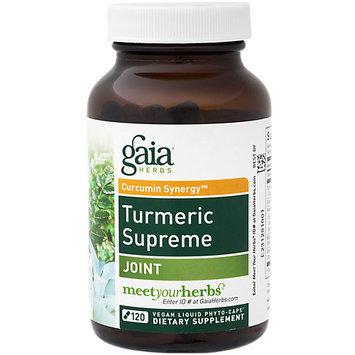 Turmeric Supreme Joint Gaia Herbs 120 Caps