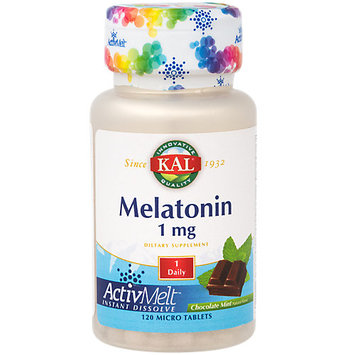 Melatonin ActivMelt Chocolate Mint Kal 120 Lozenge