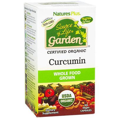 Source Of Life Garden Curcumin 400 mg Nature's Plus 30 Caps