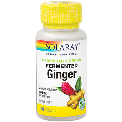 Solaray Organically Grown Fermented Ginger