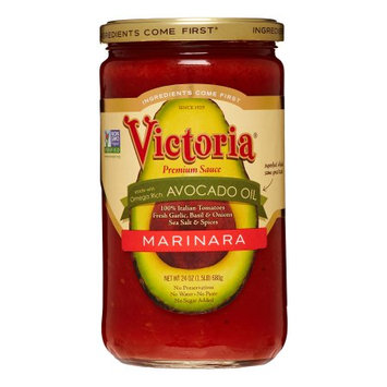 Victoria Premium Marinara, Made with Avocado Oil, 24 Fl Oz, 6 Count