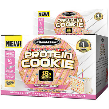 MuscleTech Protein Cookie - 6 Cookies Birthday Cake