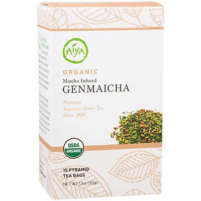 Aiya America Organic Matcha Infused Genmaicha