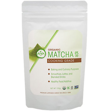 Aiya Organic Cooking Grade Matcha (Pack of 2)