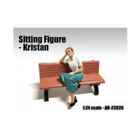 American Diorama 23926 Sitting Figure Kristan for 1-24 Scale Models