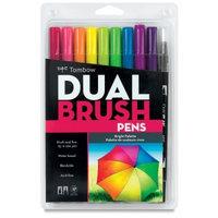 Tombow Dual Brush Marker Open Stock-493 Reflex Blu