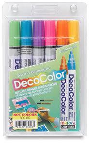Decocolor Paint Markers