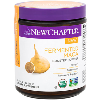 Fermented Maca Booster Powder by New Chapter (2.2oz Powder)