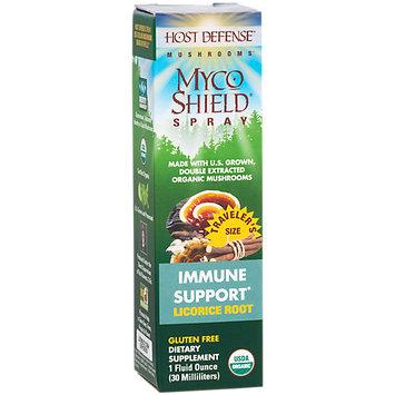 Fungi Perfecti / Host Defense MycoShield Spray - Licorice Root Fungi Perfecti/Host Defense 1 fl oz Spray