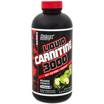 Nutrex Liquid Carnitine 3000 - 16 fl. oz Green Apple