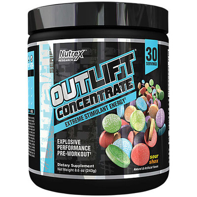 Nutrex Outlift Concentrate - 30 Servings Sour Shox