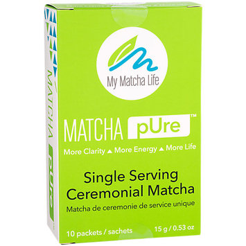 My Matcha Life Ceremonial Matcha Single Serving