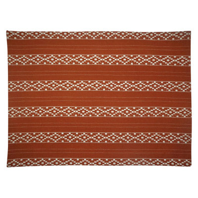 Placemat Orange Woven Stripe - Threshold, Red
