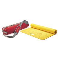 Stott Merrithew Kids Yoga Mat and Bag Combo - Red/Yellow (4mm)