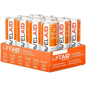 Lifeaid Beverage Company LifeAID TravelAID Immunity Blend, 12 - 12 Fluid Ounce Cans