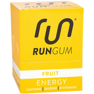 Run Gum - Fruit - Pack of 12 - Color: Fruit - Size: One Size