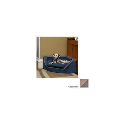 O'donnell Industries ODonnell Industries 24080 Medium Luxury Corner Pet Bed - Camel-Olive