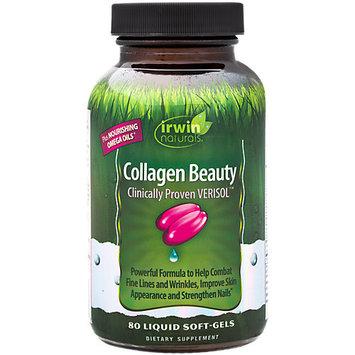 Collagen Beauty Irwin Naturals 80 Liquid Softgel