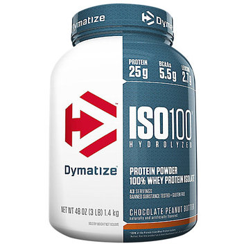 Dymatize ISO100 - 3lbs Chocolate Peanut Butter