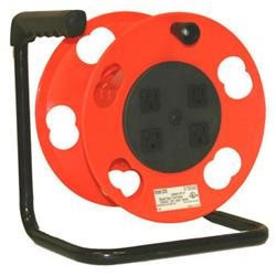 Bayco Products Crank Cord Reel W/Breaker K-2000