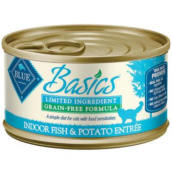 Blue Buffalo Company Blue Buffalo BB00731 Basics Fish & Potato Adult Cat Wet 6.35 lbs.