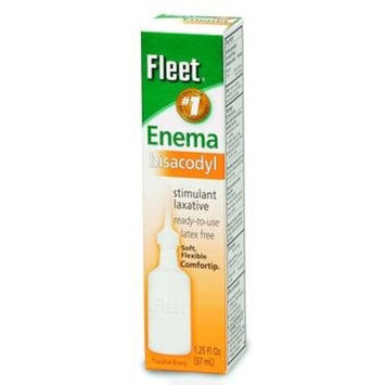 (CS/24) Bisacodyl Enema 1.25 oz. Bottles: Health & Personal Care