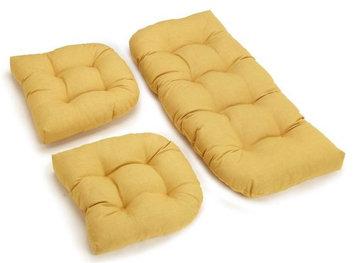 Blazing Needles Cocoa Chair Cushion 93180-REO-S10-CO