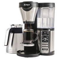Ninja Coffee CF086 Coffee Bar Brewer with Thermal Carafe and reusable filter