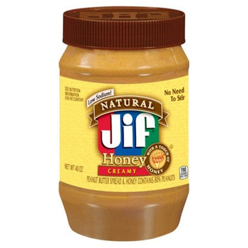 Smucker's Jif Natural Creamy Honey 40oz