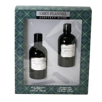 Geoffrey Beene Geoffry Beene Men's Grey Flannel 2-piece Set