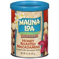 Mauna Loa Macadamia Nuts, Honey Roasted, 4.5-Ounce Can