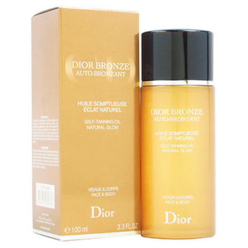 Christian Dior Bronze Self-Tanning Oil Natural Glow Face and Body, 1.8 oz.