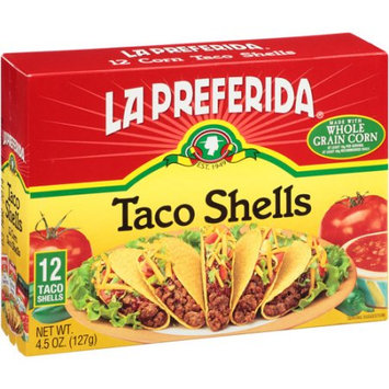 La Preferida, Inc. La Preferida Taco Shells, 12 count, 4.5 oz, (Pack of 12)