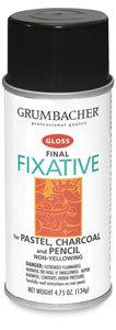 Final Fixative, Gloss by Grumbacher