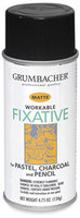 Grumbacher GB546 11.75Oz Workable Fixative Spray