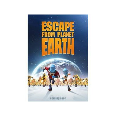 Escape From Planet Earth (DVD) (Widescreen)