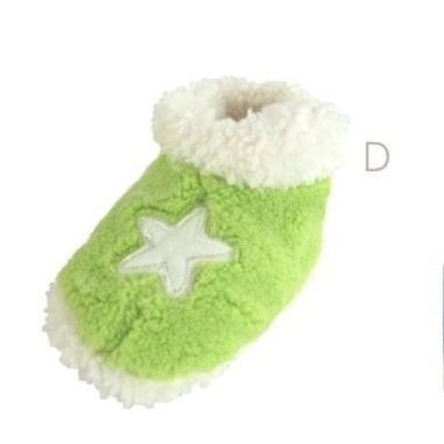 Baby Shoes Baby Baby Running Shoes Slippers Slippers Size 13 cm Green